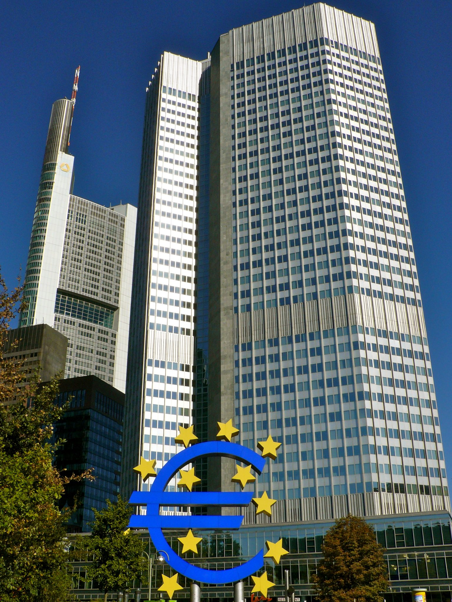 ECB's HQ, Frankfurt, Germany