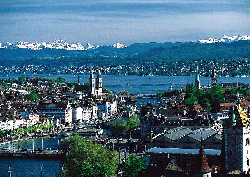 Swiss capital Zurich