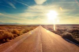 Road travel concept.Car travel adventures.