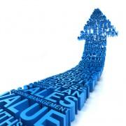 Business improvement arrow