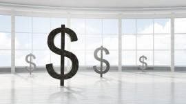 Dollar financial concept