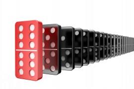domino,success concept