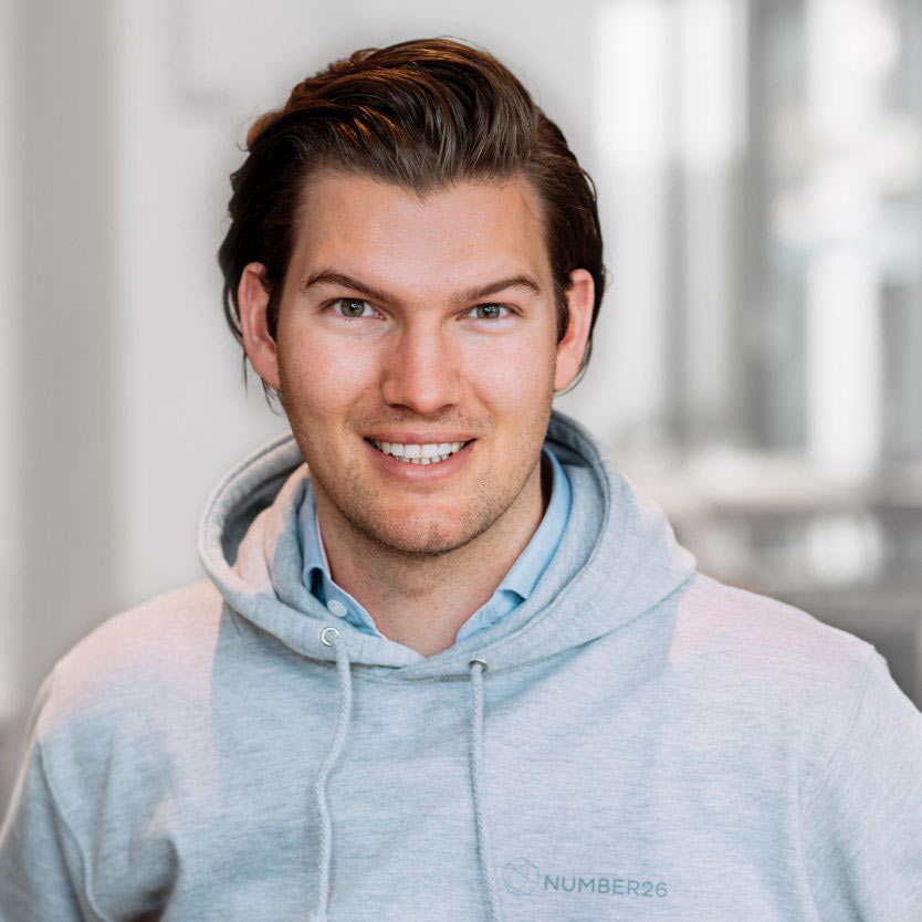 N26 co-­founder and CEO Valentin Stalf