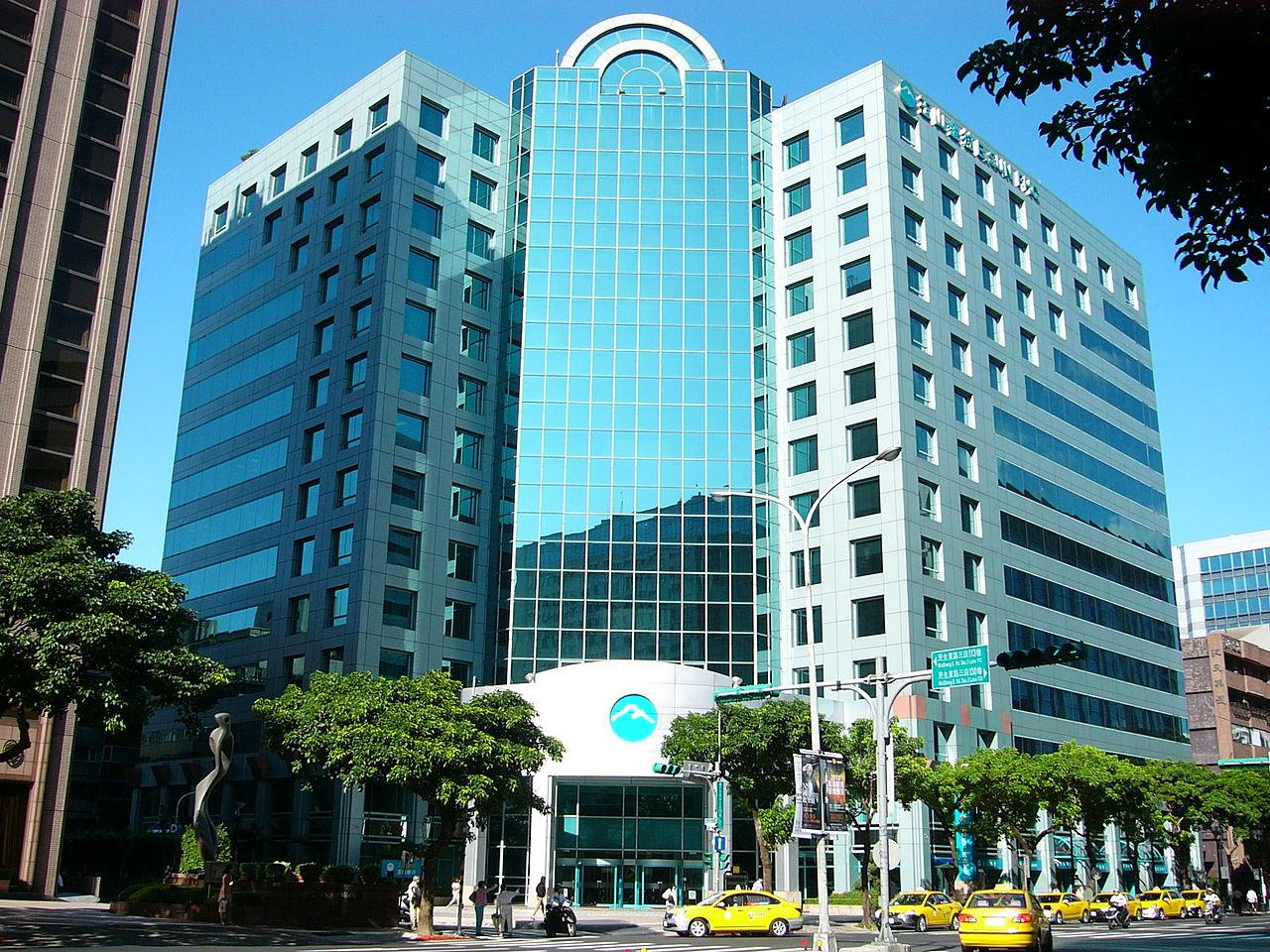 E.Sun Bank's HQ, Taipei, Taiwan © Wikipedia