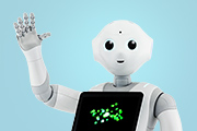 Pepper robot from SoftBank Robotics
