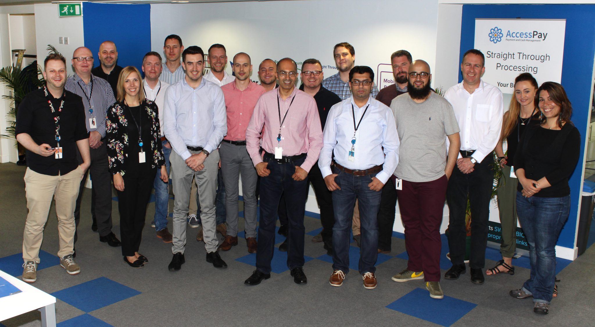 The AccessPay team in Manchester, UK