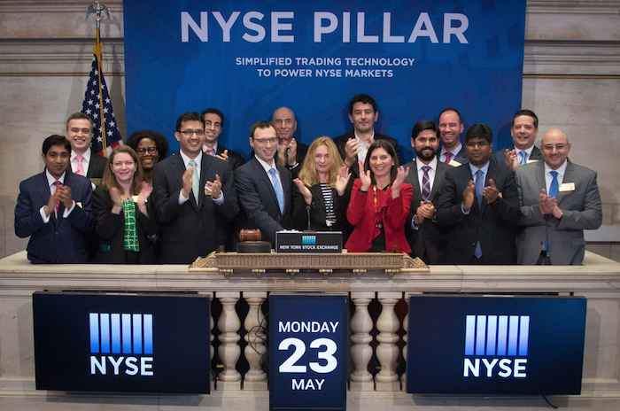 NYSE celebrates the launch of new trading platform Pillar