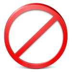 Restricted-icon