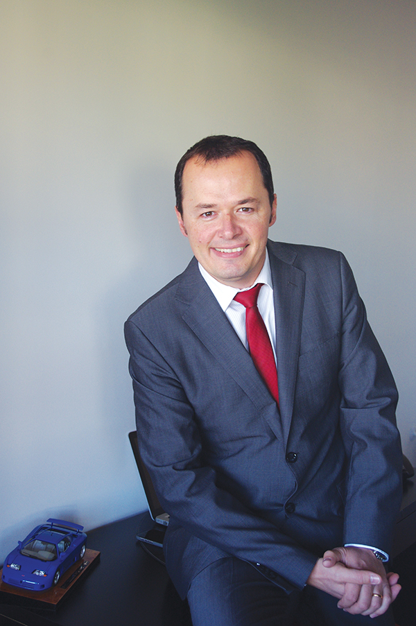 """Olivier Sery, TAS Group: """"We provide the engine, you build the car"""""""