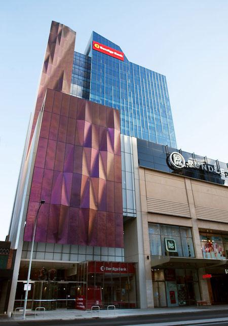 Bendigo and Adelaide Bank's new office in Adelaide, Australia