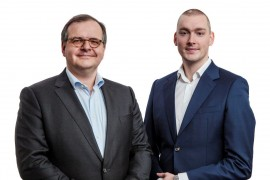 Patrick Lemmens and Jeroen van Oerle, Robeco New World Financial Equities