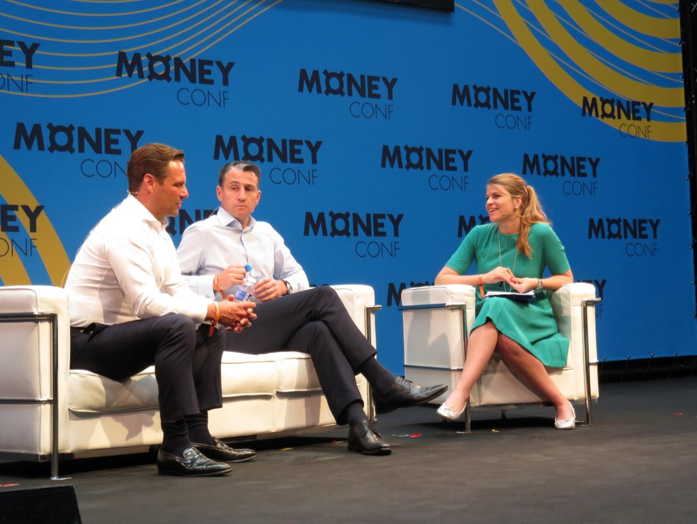 Left to right: Kim Fournais, Frederik Meheus and moderator Anna Irrera