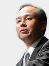 Masayoshi Son, CEO of SoftBank