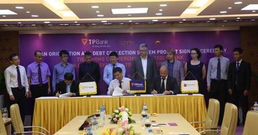 TPBank and Diasoft contract signing ceremony
