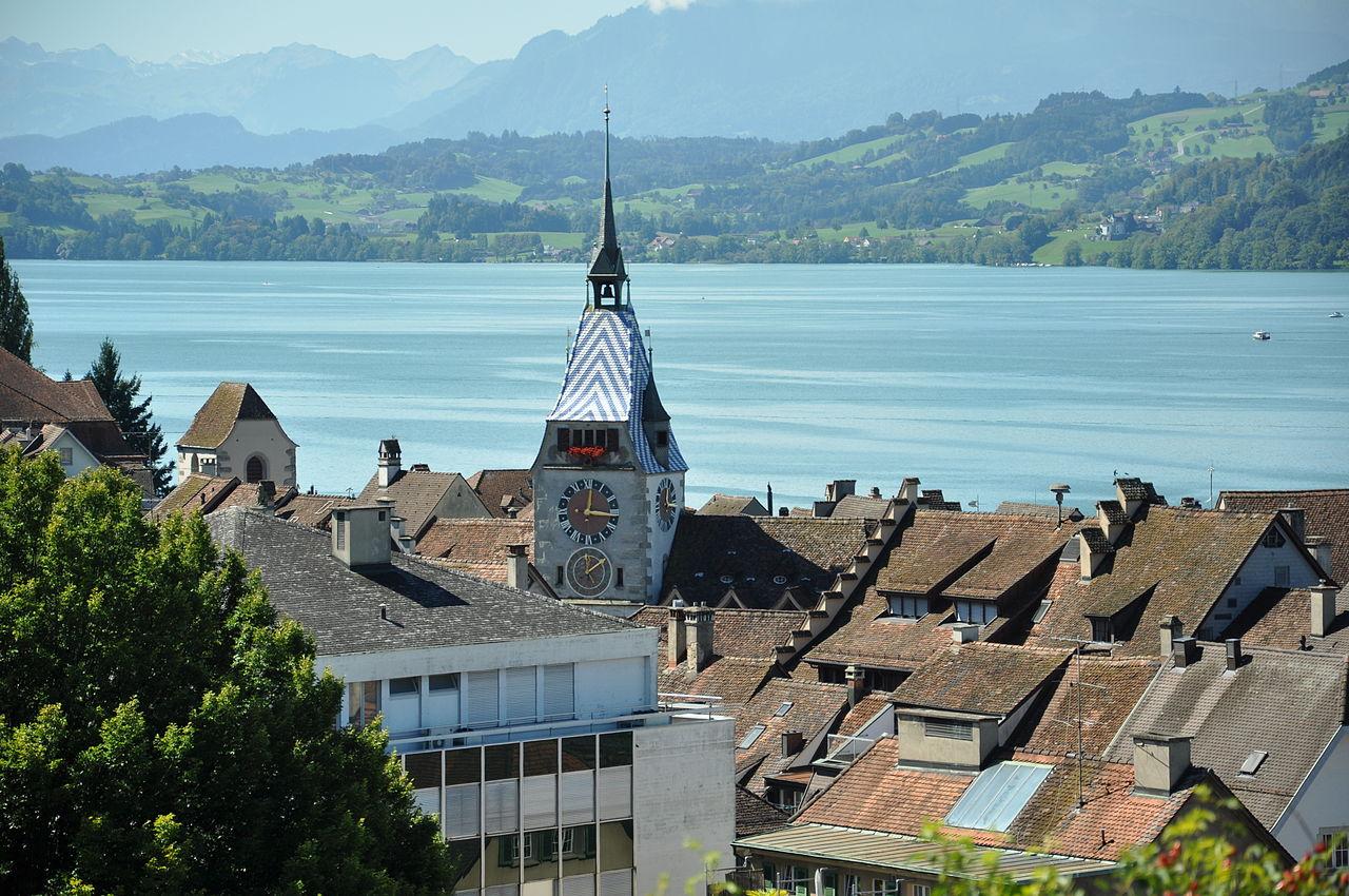 Zug, Switzerland © Wikipedia