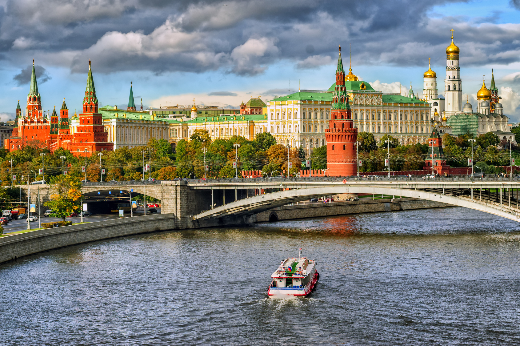 Moscow, home of Russia's central bank