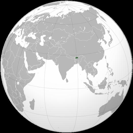 Bhutan © Wikipedia