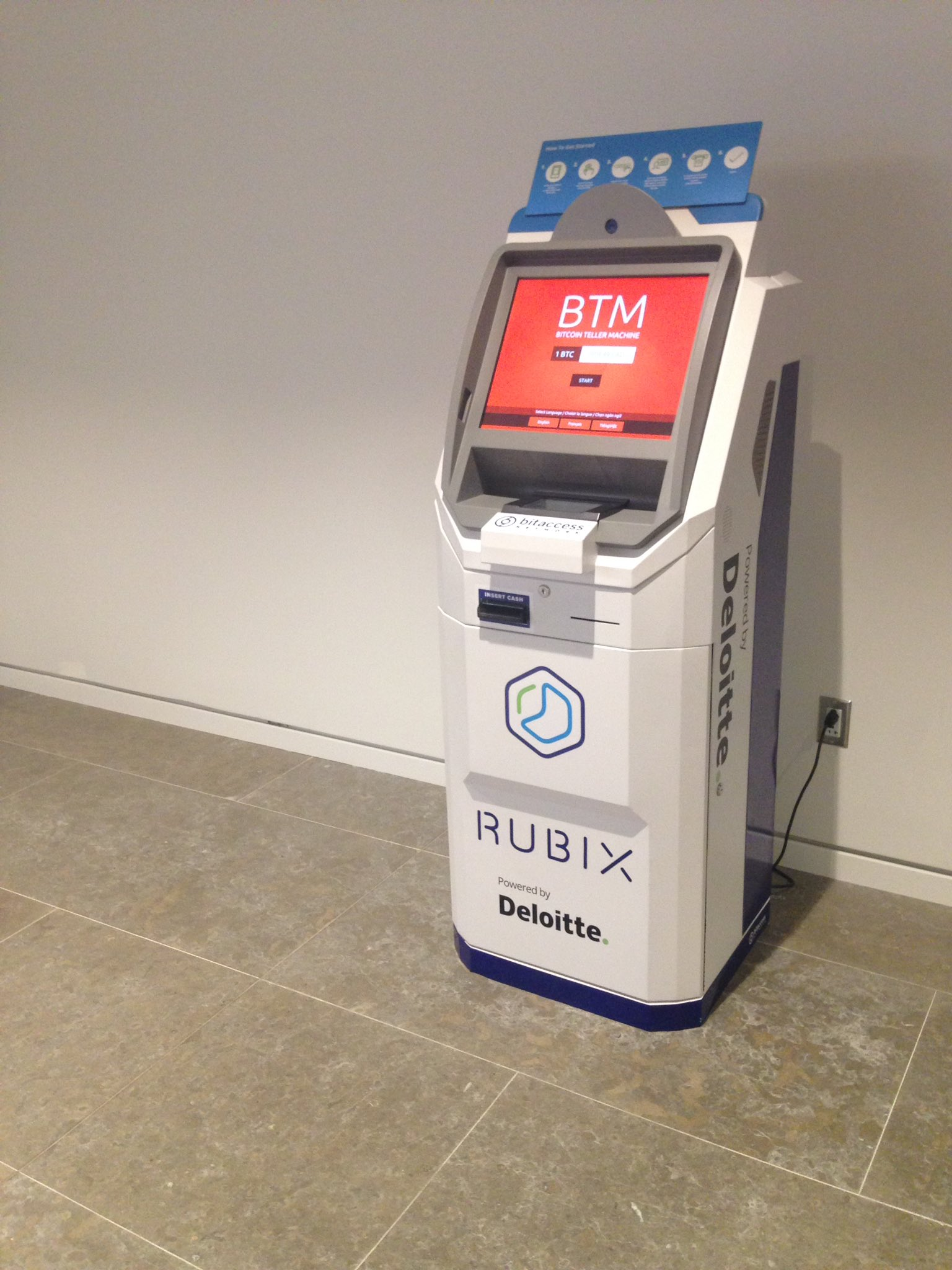 The Bitcoin transaction machine