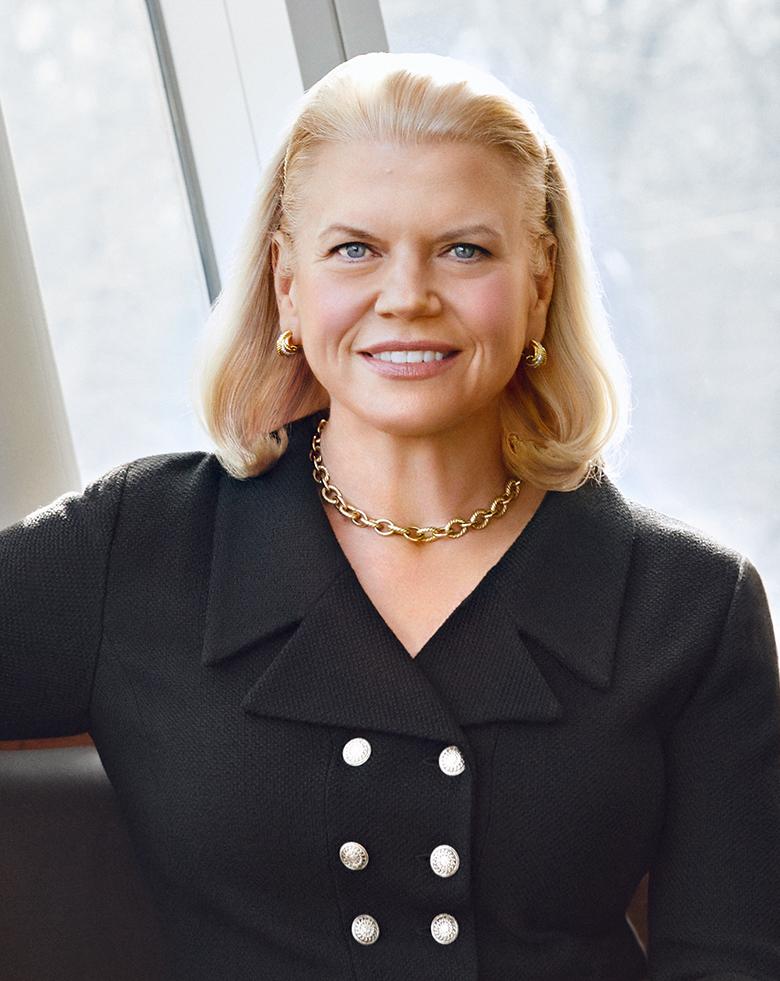 Ginni Rometty, chief executive of IBM