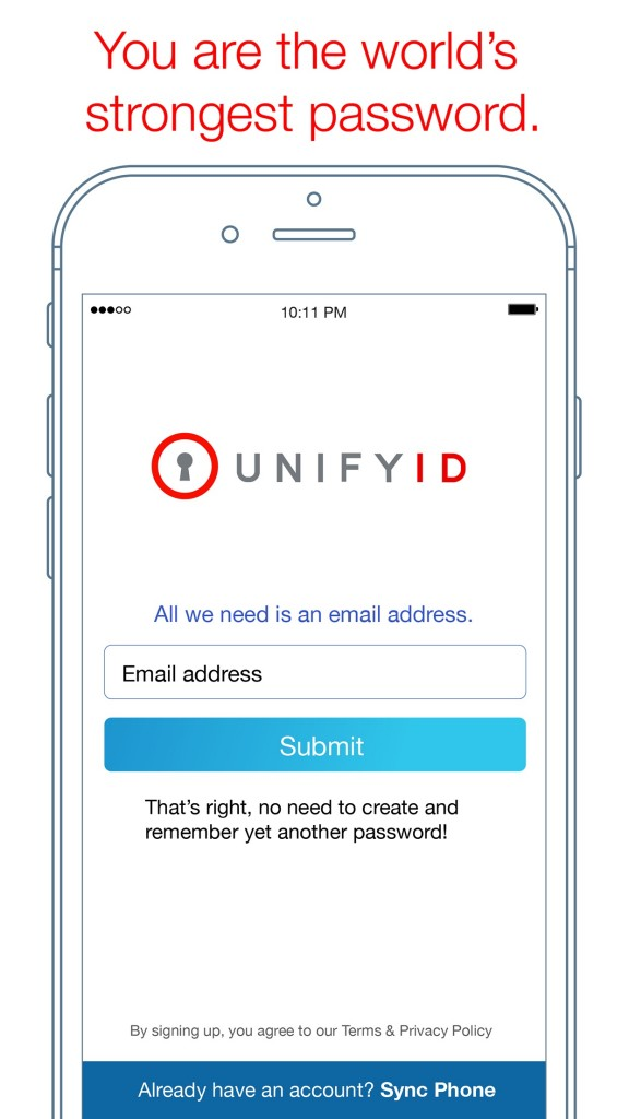 Just be yourself and UnifyID will do the rest