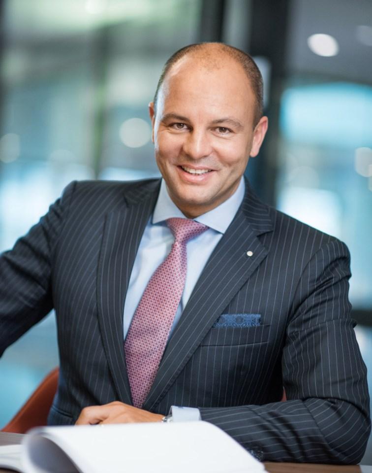 Marcel Stalder, CEO of EY Switzerland