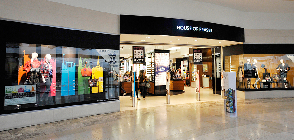 House of Fraser to invest in challenger bank Tandem