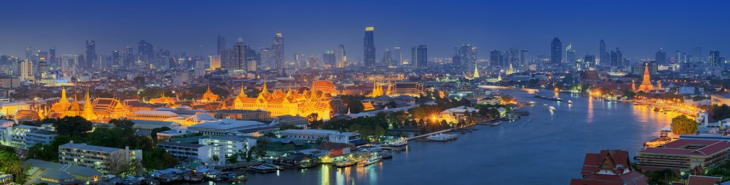 Bangkok, home of Siam Commercial Bank