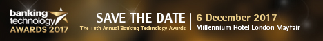 Banking Technology Awards banner