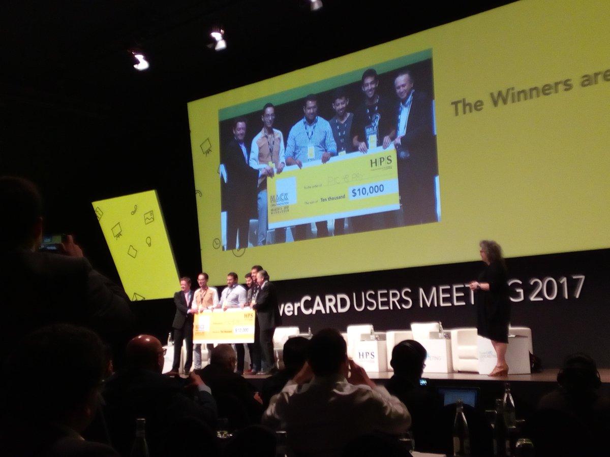 Pic & Pay wins HPS hackathon