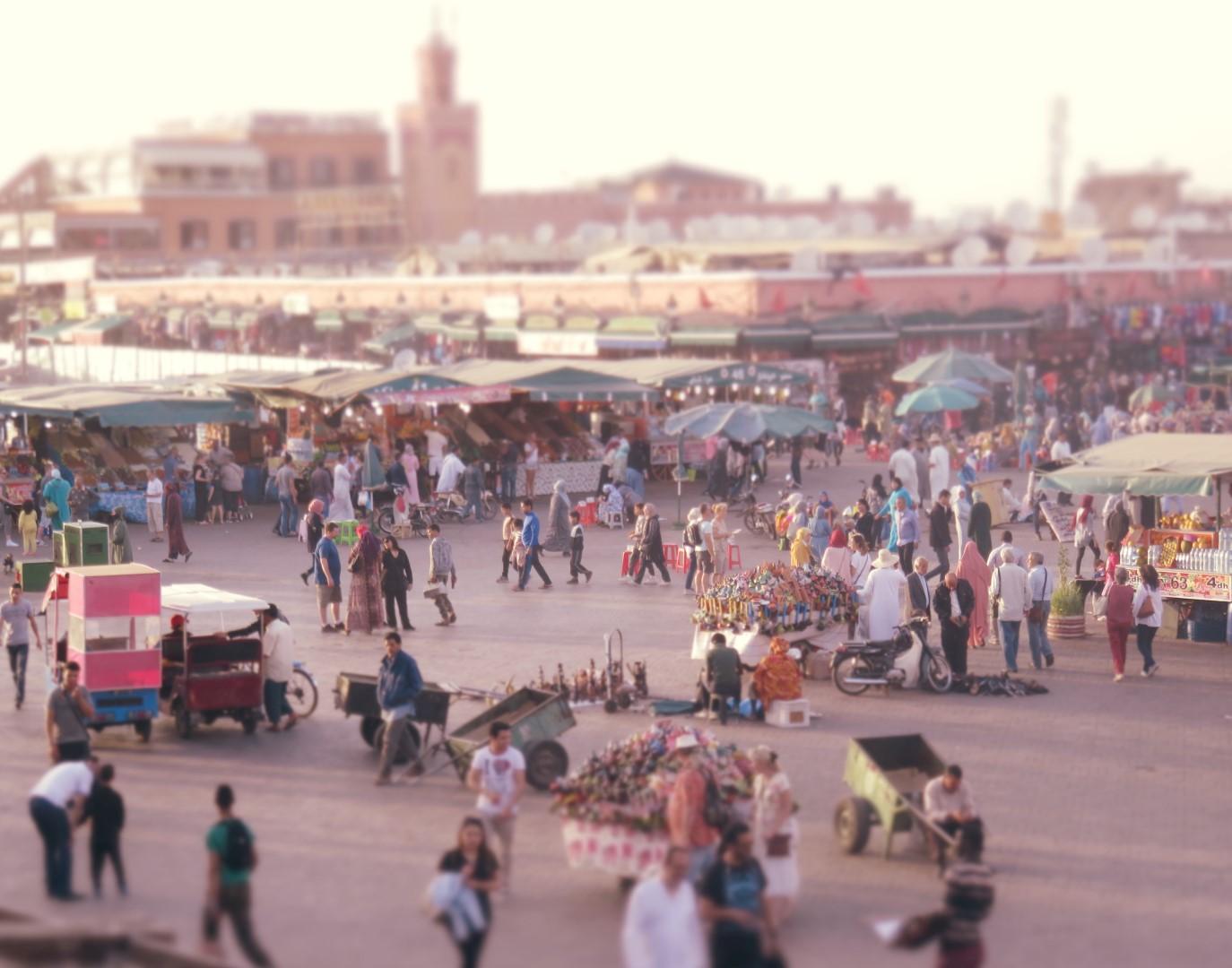 Jemaa el Fna in Marrakesh