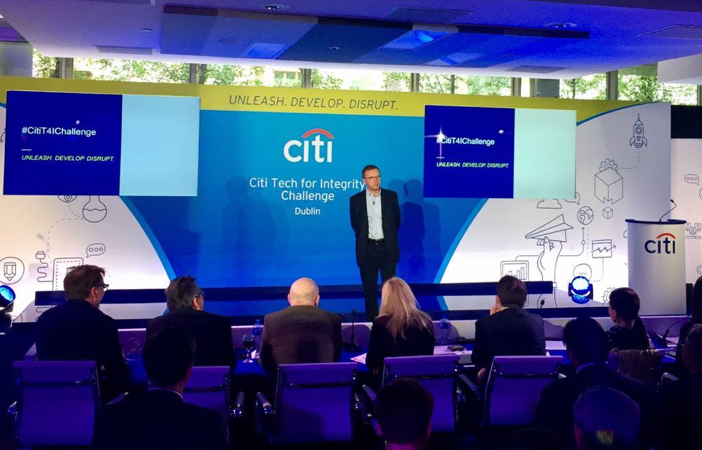 Citi Ireland CEO Zdenek Turek at the event