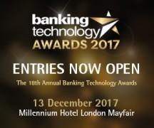 Banking Technology Awards 2017