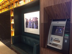 Openbank flagship branch. (If you look closely – Mick Jagger is on the pic)