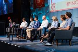FinovateFall 2017 Best of Show panel