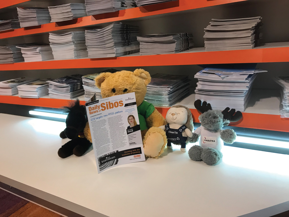 Sibos 2017: not as cuddly as you may think