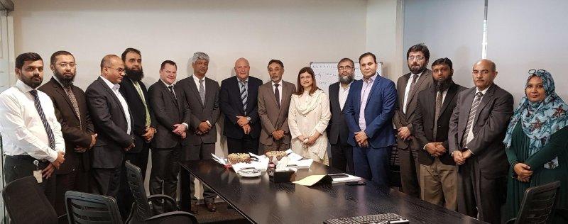Meezan Bank, NDC and Temenos teams