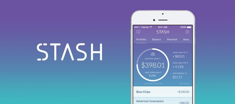 "Stash wants to ""help people build better financial habits and invest in their future"""