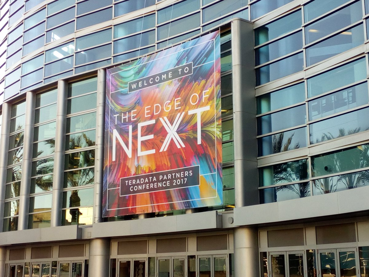 Live from Teradata Partners Conference 2017 in Anaheim, California