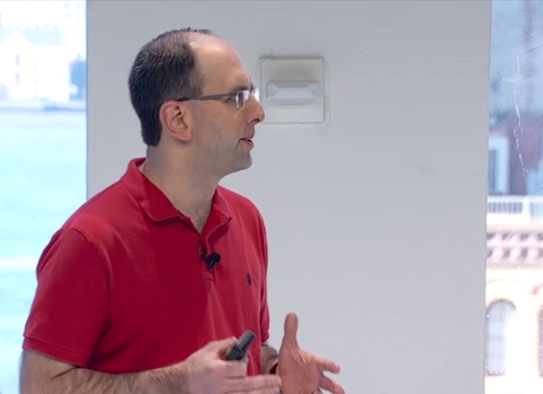Microsoft EVP Scott Guthrie speaking at Connect (Source: Microsoft)