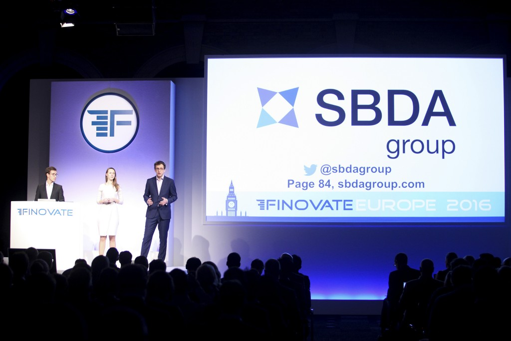 SBDA Group at FinovateEurope 2016