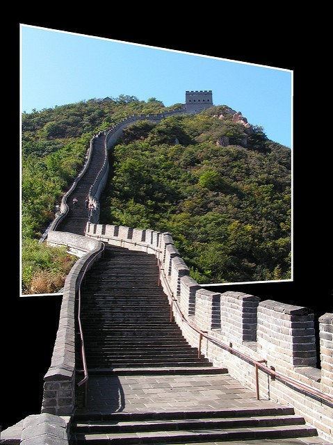"""Welcome to the Great Wall of China"" – Anna Prokopova via Flickr"