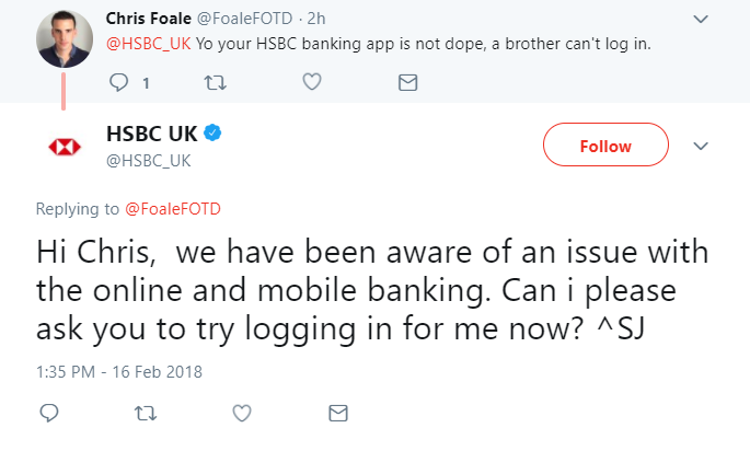 HSBC online and mobile banking goes down – FinTech Futures
