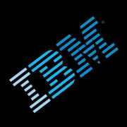 IBM logo in black