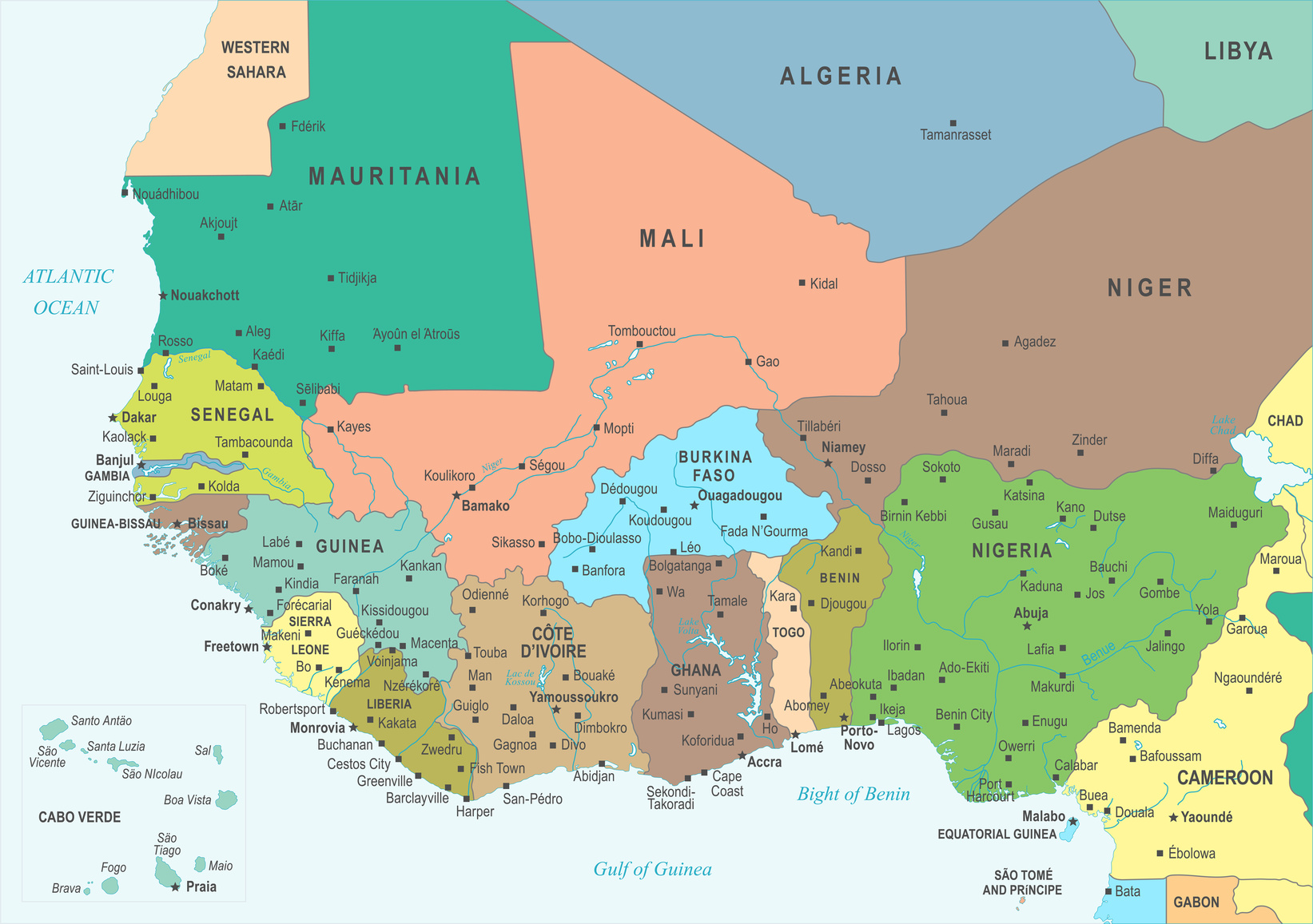 You need to be in the West African Economic and Monetary Union region