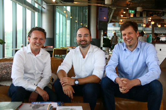 Modifi founders - Nelson Holzner (CEO), Sven Brauer (COO) and Jan Wehrs (CTO)