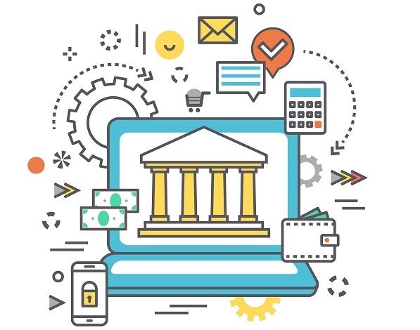 open banking concept
