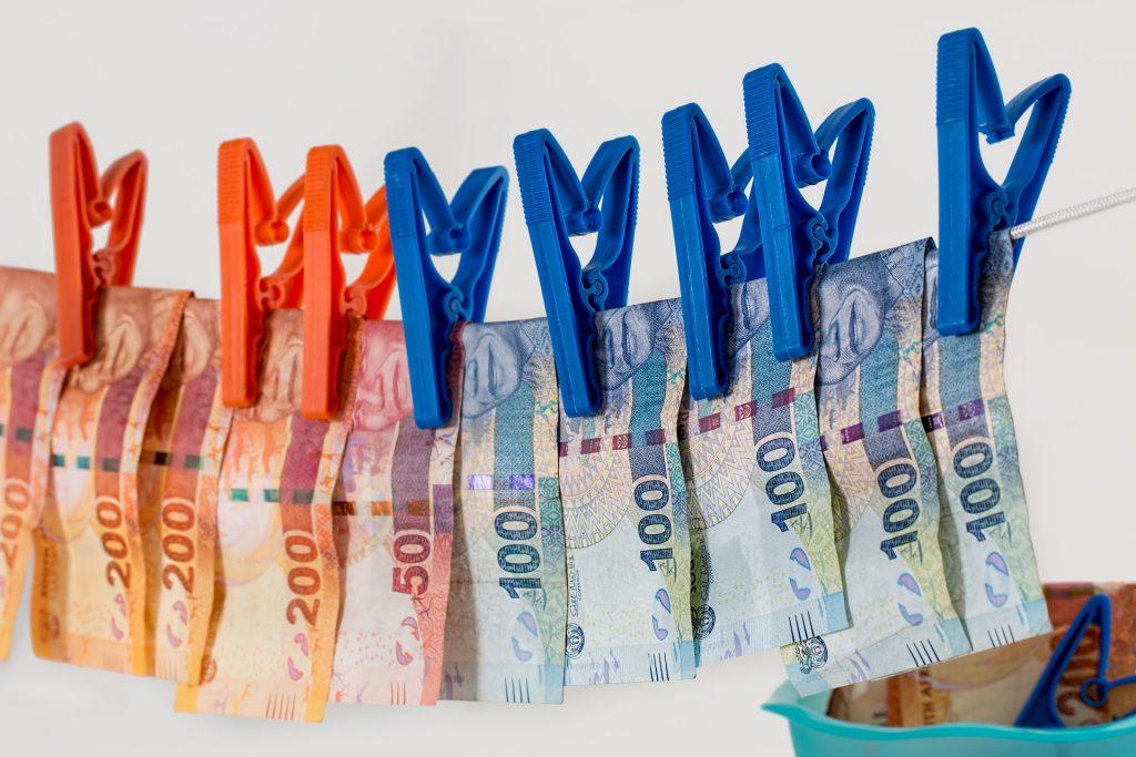 Money laundering image