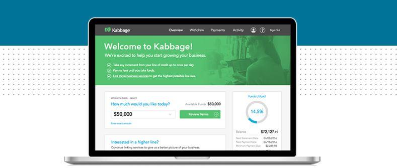 Kabbage website