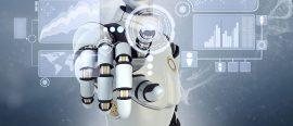 Robot hand symbolising VTB Bank's robot plans