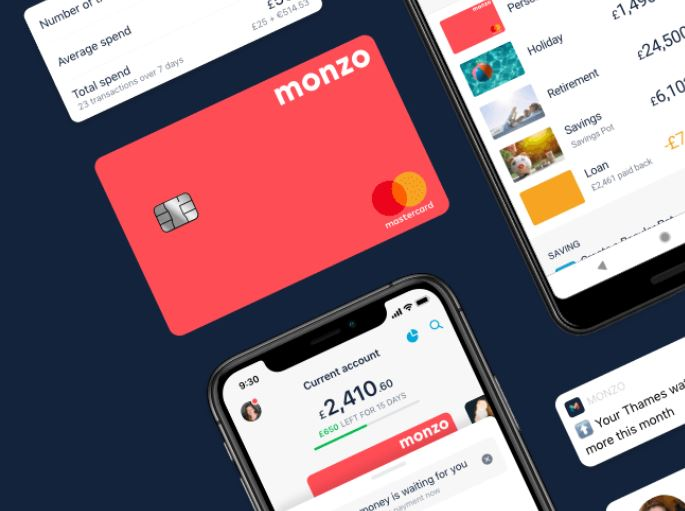 Monzo card